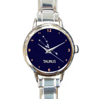 Taurus Zodiac Star Sign Stars Linked Charm Watch Bracelet Girls Birthday Gift