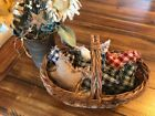 New Homespun Plaid Ornies Bowl Fillers PrImITive Stars Mix Red Green Blue Black