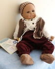 Sigikid Vinyl BABY Boy Doll No. 26287- MANO TENBUSDI - #84  - NEVER Displayed