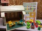 Vintage Fisher Price School House with accessories  new decals