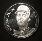NOLAN RYAN SILVER ROUND 1 TROY OZ .999 PURE SILVER  LOT 080720