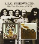 REO SPEEDWAGON - THIS TIME WE MEAN IT/REO  CD NEW+