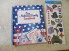 OUR MILITARY FAMILY SCRAPBOOK  MILITARY STICKERS SPIRAL BOUND LIFE  TRAVELS