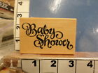 PSX Baby Shower RUBBER STAMP 3e