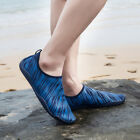 Mens Water Shoes Slip On Aqua Socks flexible Pool Beach Swim Surf Yoga 1