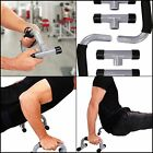 Push Up Bars Heavy Duty Plastic Angled Design with Cushioned Foam Grips Non Skid