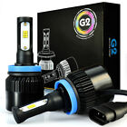JDM ASTAR G2 8000 Lumens Extremely Bright H11 H8 CSP LED Headlight Kit Fog Lamps