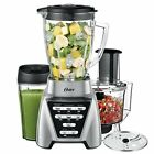 Oster Pro 1200 Blender 3 in 1 Food Processor Attachment Mixing Blending Jar Cup