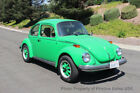 1974 Volkswagen Beetle Classic 1974 VW Beetle restored no rust viper green 1974 VW Beetle recent restoration Viper Green looks and drives great