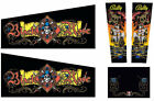BLACK ROSE Pinball Machine Cabinet Decals - NEXT GEN - LICENSED