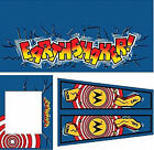 EARTHSHAKER Pinball Machine Cabinet Decals Limited QTY - NEXT GEN - LICENSED