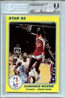 1984-85 Star Court Kings #12 Dominique Wilkins BGS 8.5 (5x7)