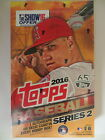 2016 TOPPS BASEBALL SERIES 2 FACTORY SEALED HOBBY BOX