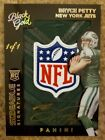 2015 Panini Black Gold *BRYCE PETTY* Logo Patch On-Card Auto #'d True 1 1