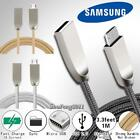 Braided Micro USB Charging Data Sync Charger Cable For Samsung Focus S I937