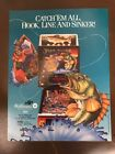 WILLIAMS FISH TALES PINBALL MACHINE ORIGINAL GAME FLYER!