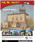 FOS Scale - LAMONT PHOTO & FILM - Brand New & Sealed!!! Very Fine HO Miniature!!