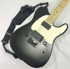 Fender JIM ROOT Telecaster Flat Black, Good Condition From JAPAN
