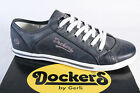Dockers Lace Up Sneakers Low Shoes Grey NEW