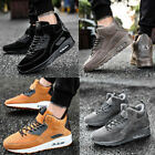 Mens High Top Sneakers Casual Sports Athletic Running Plus size outdoor Shoes