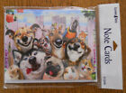 8 Leanin Tree Note Cards DOGS CATS BUNNY PARROT PET ANIMALS SMILING SELFIES