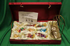 Ameri Christmas Ornaments Nativity Full Set Including Beautiful Red Case