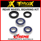 ProX 23.S115086 Aprilia 1000 CAPONORD ETV 2001-2006 Rear Wheel Bearing Kit