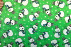 SNUGGLE FLANNEL SNOWMAN SKETCH GREEN 100 Cotton Fabric BTY