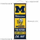 University of Michigan Wolverines Room Banner Poster Art Canvas