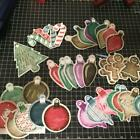 Scrapbooking 36 pcs Chipboard CHRISTMAS Embellishments Tags with Eyelets