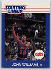 1988  JOHN WILLIAMS - Kenner Starting Lineup Card - SLU - CLEVELAND CAVALIERS