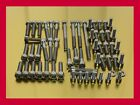 Kawasaki ZRX 1100 / ZRX1100 Stainless Steel Bolt-Kit Screws Engine Motor Cover