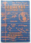 Teaching Textbooks Geometry Solution CDs Missing Discs 1 and 2