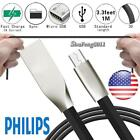 MICRO USB 20 ALLOY CABLE DATA SYNC CHARGING CHARGER For Philips Xenium S386