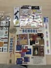 Paper Pizazz Busy Scrappers Solution School Papers PLUS embellishments F