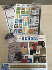 Paper Pizazz Busy Scrappers Solution School Papers PLUS embellishments I