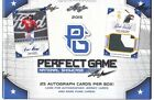 2015 LEAF PERFECT GAME BASEBALL HOBBY BOX 25 AUTOS!!!