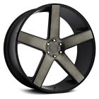 DUB Baller Wheels 22x95 Black with Machined +26 5x1397