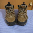 TAN YOUTH ARIAT TERRAIN SQUARE TOE SZ 6B LEATHER ANKLE BOOTS WITH LACES