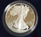 2011 W 1 oz Proof Silver American Eagle w Box  CoA