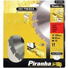 PIRANHA 180MM HI-TECH NAIL CUT TCT CIRCULAR SAW BLADE  180 x 20  18T  MAKITA