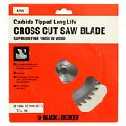 BLACK & DECKER A7545 156MM x 12.7MM 40T FINE CROSS CUT TCT CIRCULAR SAW BLADE