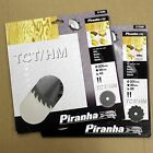 PIRANHA 200MM TCT CIRCULAR SAW BLADES 200 x 30 20T & 40T. FIT BOSCH FESTO MAKITA