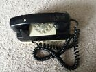 Vintage Rotary GTE Automatic Electric Wall Phone black Mounting plate WORKS