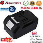 18V 5.0Ah Lithium-Ion Replace Battery for Makita BL1813G DF457D TD127D HP457D UK