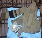 Rothco Tactical Leg Holster Coyote Tan 5 New