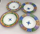 The Sweet Shoppe Sango Lot of 4 Bowls Peach Cobbler Pecan Pie Key Lime Pie