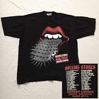 Vintage ROLLING STONES North American Tour 1994 Voodoo Lounge Concert T Shirt M