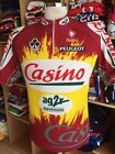 Vintage Cycling Jersey Casino AG2R Colnago XL Nalini Shirt Maillot France