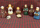 Holy Family Nativity Scene Faith Joy Hope Love 9pc 35 Figures Hatten like